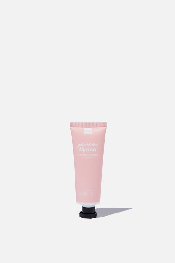 Hand Cream Strawberry Scent, FIYAH