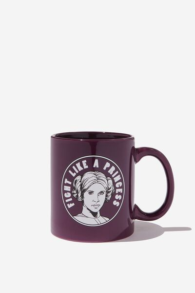 Anytime Mug, LCN LU PURPLE LEIA