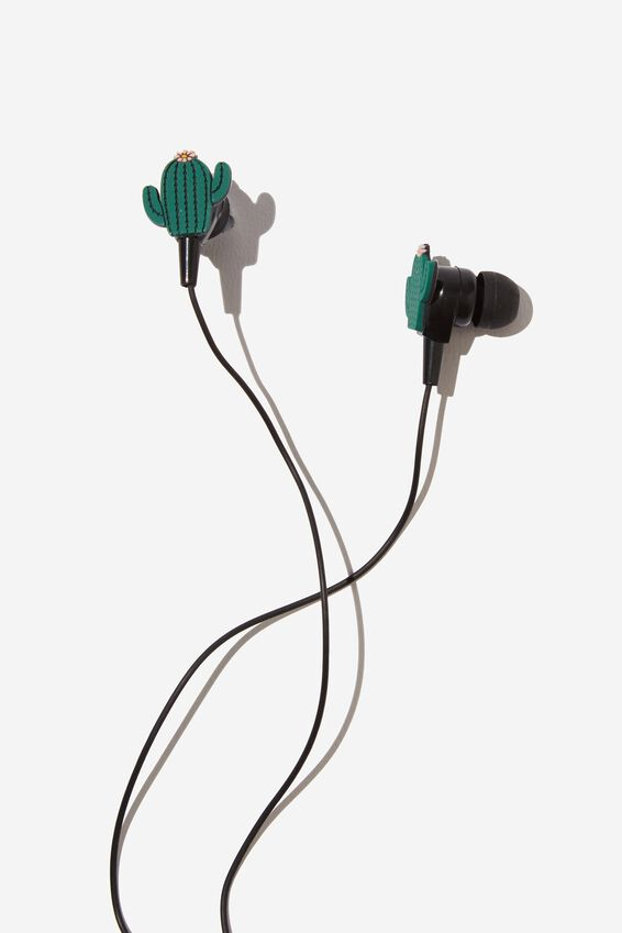 Novelty Earphones, CACTUS