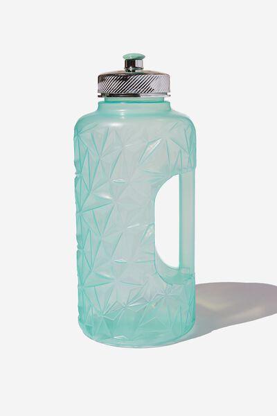 Faceted Drink Bottle, MINT