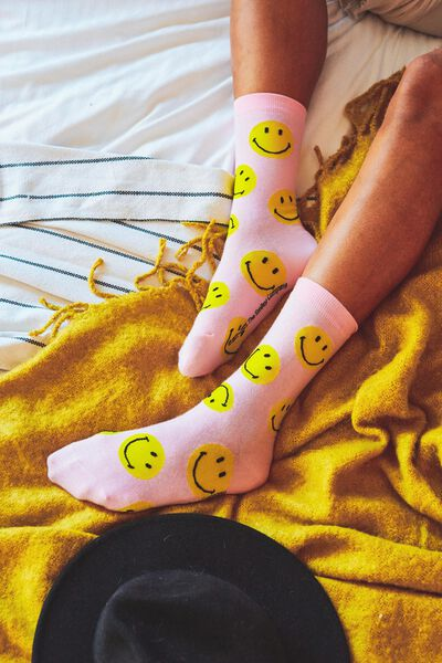 Socks, LCN SMI PINK FACES
