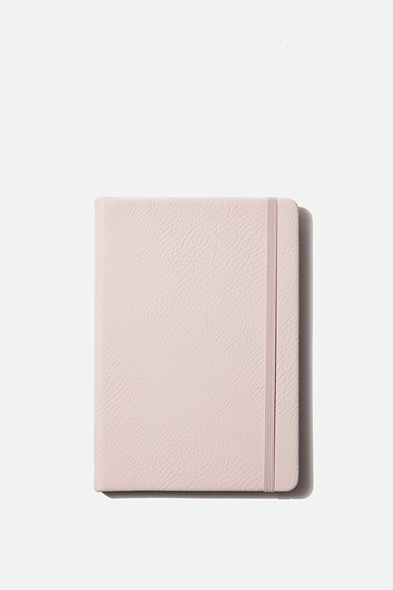 "A5 Dot Buffalo Journal (8.27"" x 5.83""), PEBBLED BLUSH"