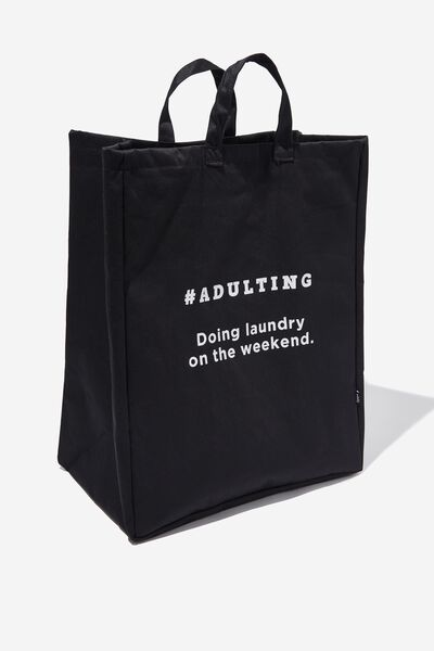 Laundry Bag, #ADULTING