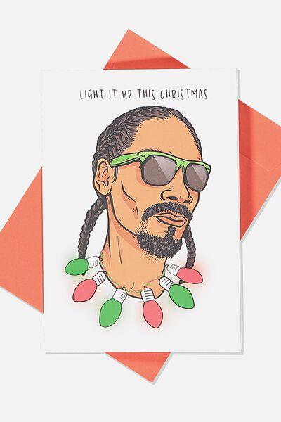 Christmas Card 2019, LCN MT SNOOP LIGHT IT UP