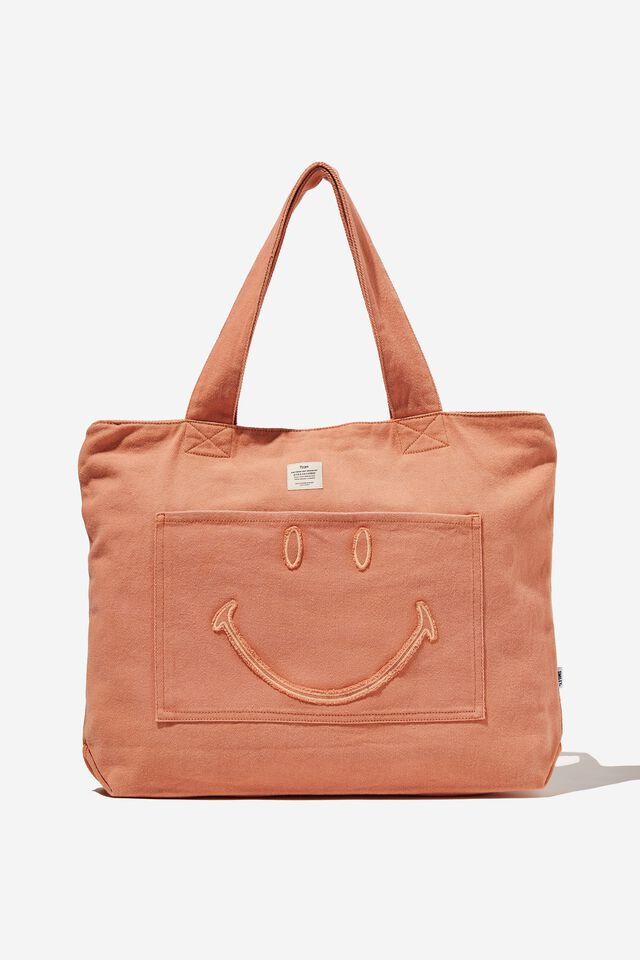 Smiley Exclusive Daily Tote, LCN SMI SMILEY CLAY