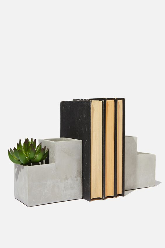 Novelty Bookends, PLANTER