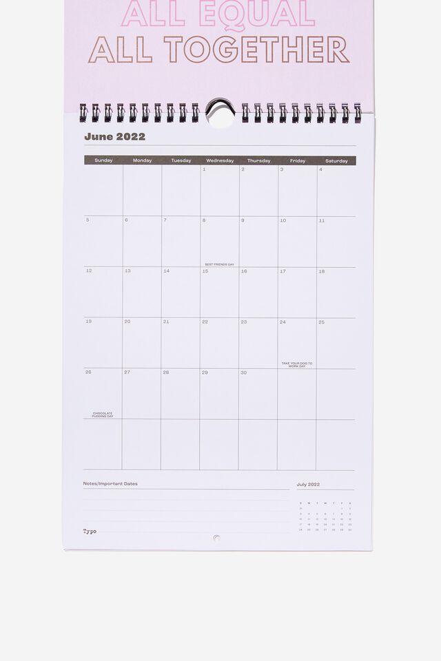 2022 Get A Date Calendar, VIBING & THRIVING