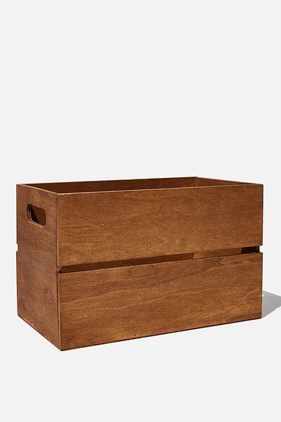 Box Storage, VINTAGE WOOD