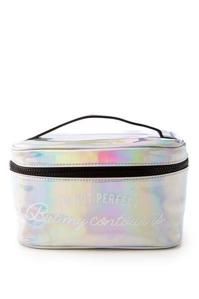 Weekender Cosmetic Case, IRIDESCENT