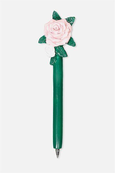 Novelty Pen, ROSE FLOWER