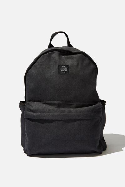 Fundamental Backpack, WASHED BLACK