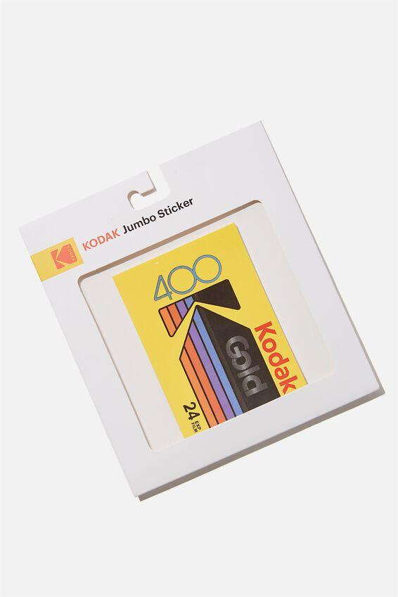 Kodak Jumbo Sticker, LCN KOD KODAK