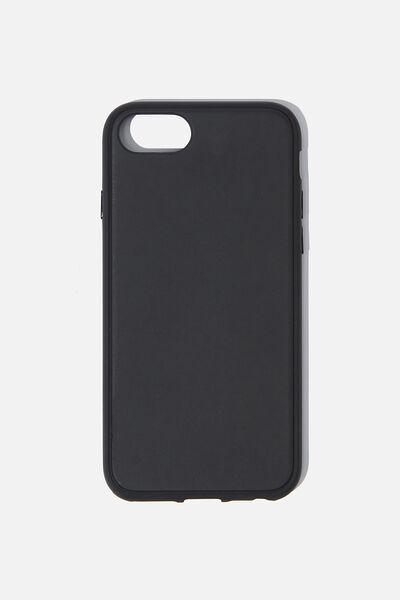 Snap On Protective Phone Case SE, 6, 7, 8, MATTE BLACK