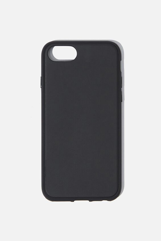 Snap On Protective Phone Case SE, 6, 7, 8, MATTE BLACK
