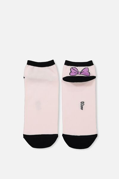 Womens Novelty Ankle Socks, LCN BOWS