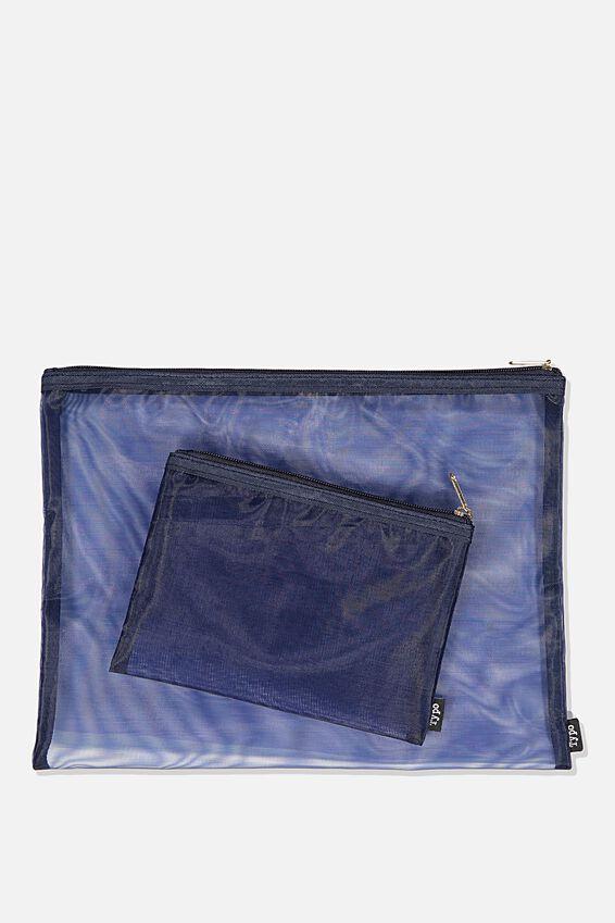 Mesh Case, BLUE