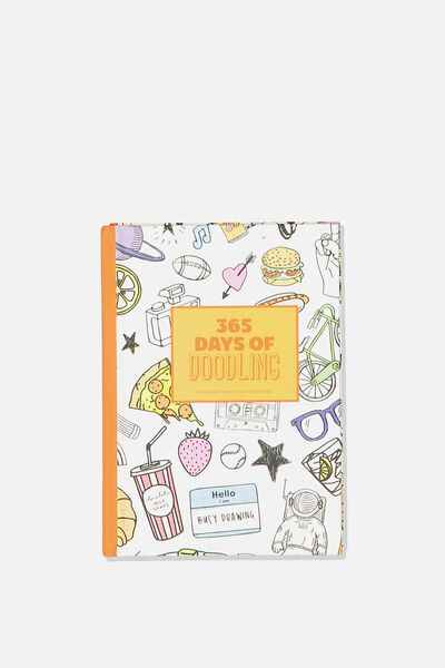 Mini Activity Journal, 365 DAYS OF DOODLING