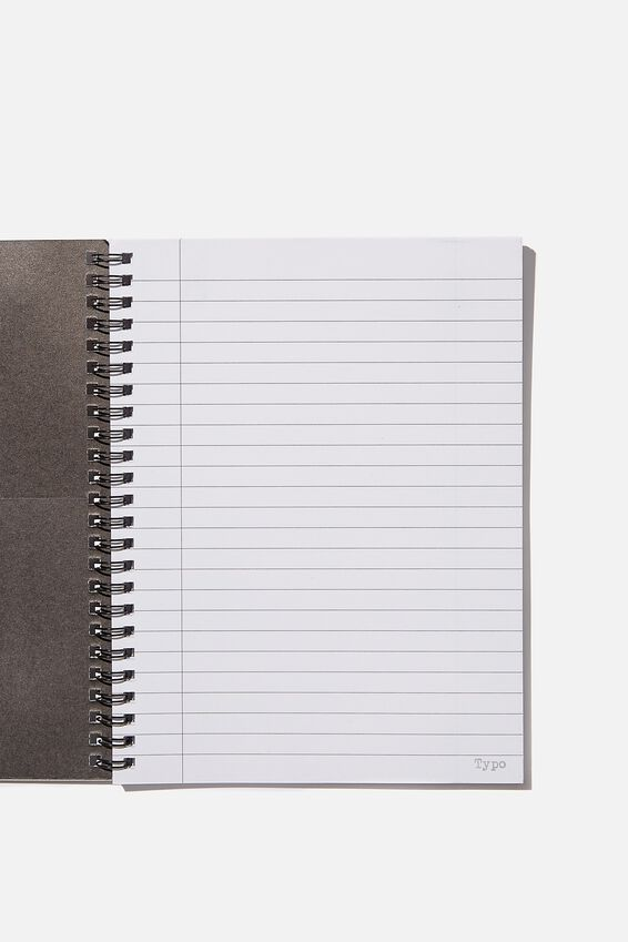 A5 Spinout Notebook Recycled, STUPID PEOPLE