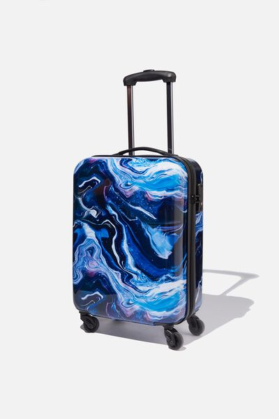 Tsa Small Suitcase, MOON MARBLE