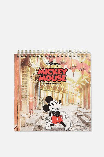 2020 Get A Date Flip Desk Calendar, LCN DIS MICKEY CNY