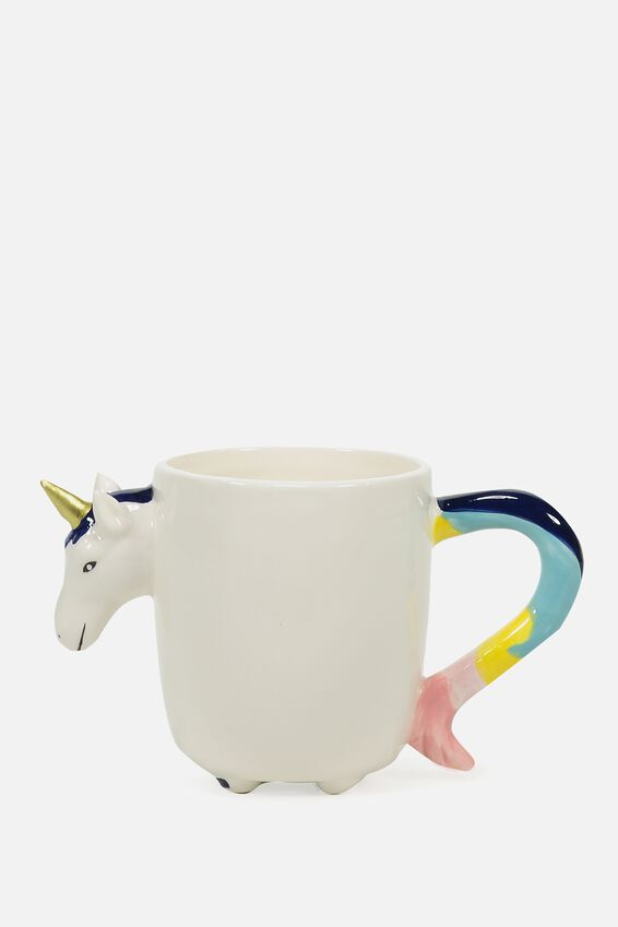 Novelty Shaped Mug, NEW YOU-NICORN
