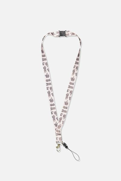 Printed Lanyard, SLOTH