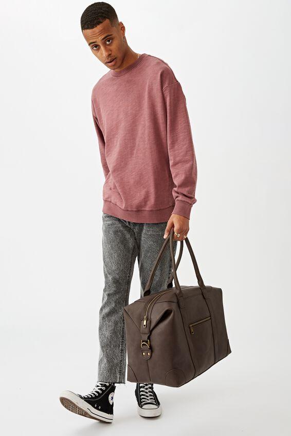 Nuevo Overnighter Bag, BITTER CHOC
