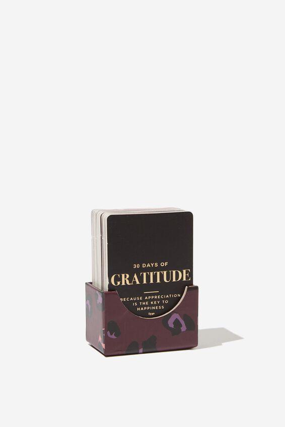 Activity Card Box, GRATITUDE