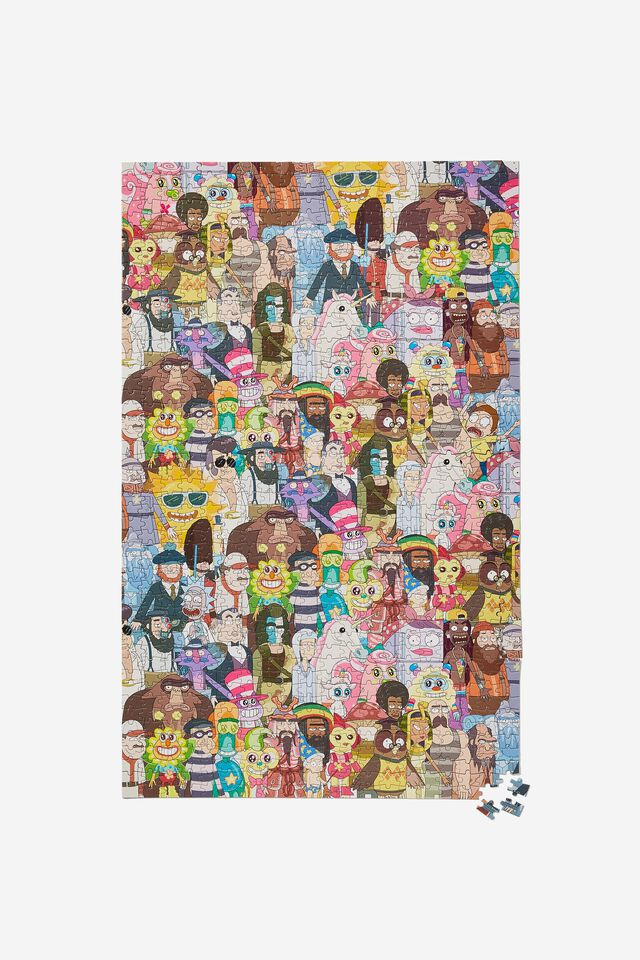 Rick & Morty 1000 Piece Puzzle, LCN CAR RICK AND MORTY