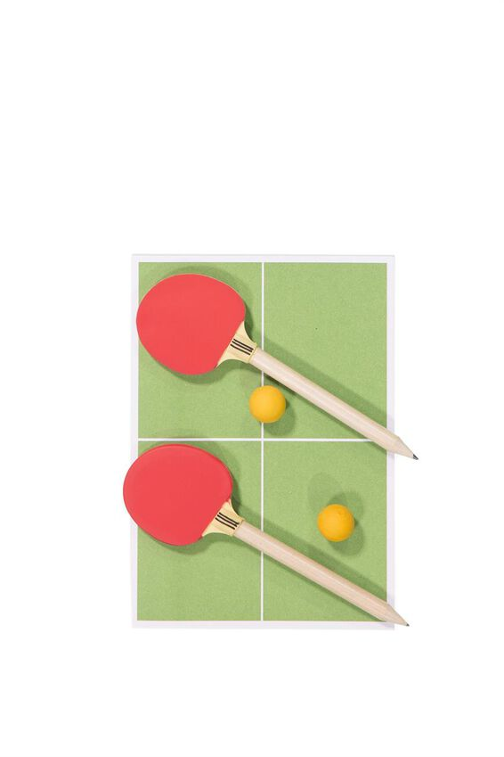 Office Desk Game Set, PING PONG