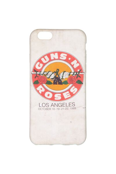 Transparent Phone Cover 6, LCN GUNS & ROSES