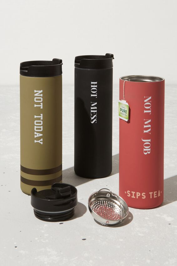 Personalisation Travelling Tea Drinker, SIPS TEA 2