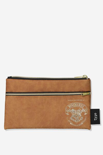 Archer Pencil Case, LCN HP TAN