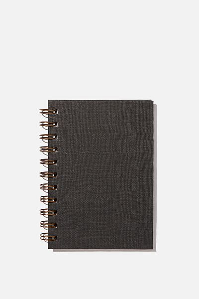 Mini Life Proof Notebook, BLACK TEXTURE