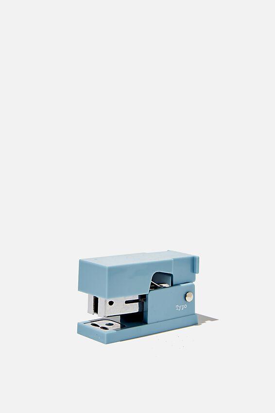 Mini Stapler, DENIM BLUE