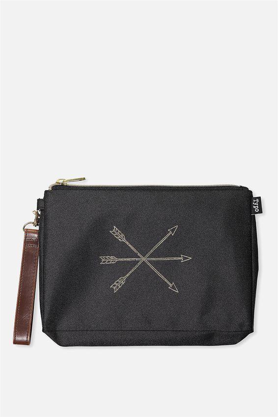 3 Pc Travel Organiser Bags, BLACK ARROWS