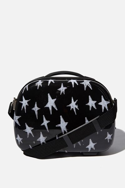 Vanity Cosmetic Case, STAR PRINT