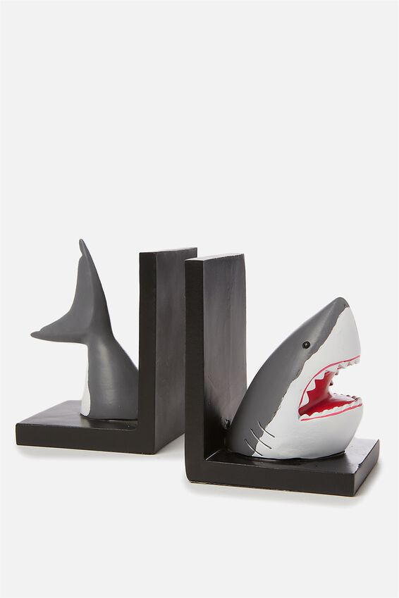Novelty Bookends, SHARK