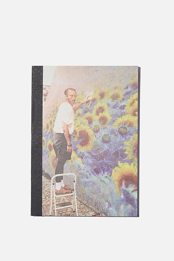 A5 Sketch Mate Book, VINCENT FLOWER WALL
