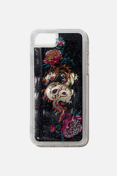 Shake It Phone Case Universal 6,7,8, FLORAL DRAGON