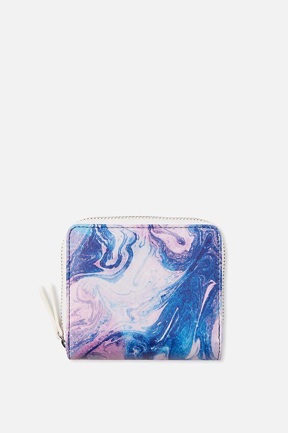 Mini Wallet, MERMAID MARBLE