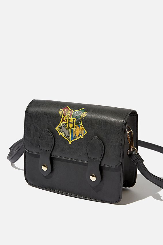 Harry Potter Mini Buffalo Satchel Bag, LCN WB HPO EMBLEM