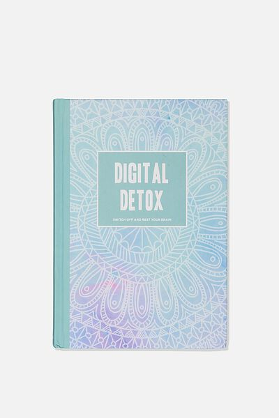 A5 Fashion Activity Journal, DIGITAL DETOX