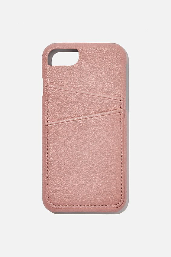 The Phone Cardholder 6,7,8, DUSTY ROSE
