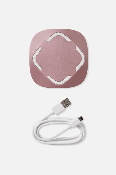 Wireless Charger, ROSE GOLD