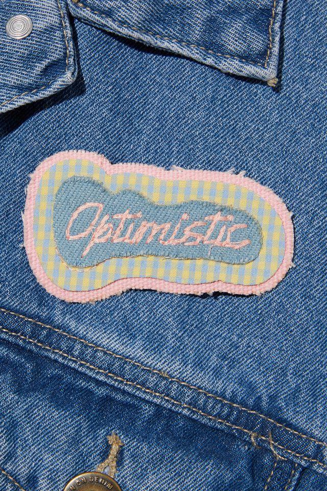 Fabric Badge, OPTIMISTIC