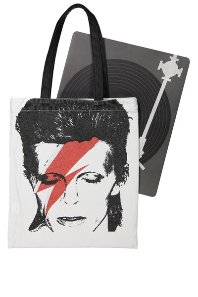 Music Tote Bag, LCN-BOWIE