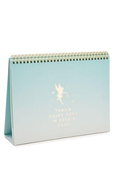2018 Desk Calendar, LCN TINKER BELL