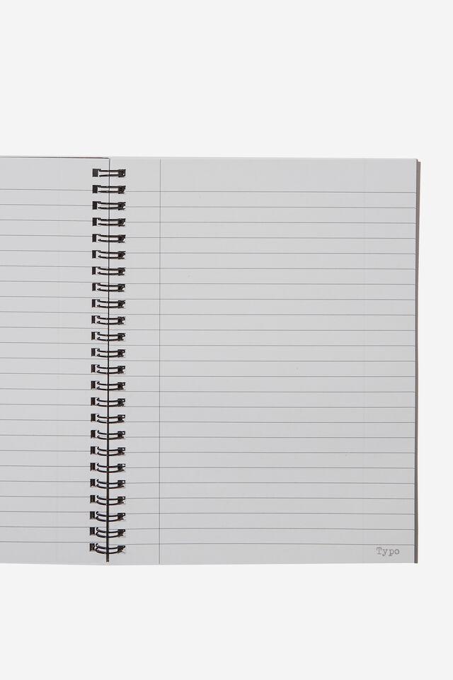 A5 Spinout Notebook Recycled, LCN POK POKEMON LOGO BLACK