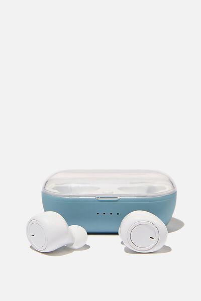 Wireless Earbuds, DENIM BLUE